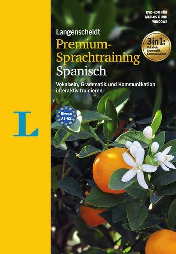 Langenscheidt Premium-Sprachtraining Spanisch - DVD-ROM: Vokabeln, Grammatik und Kommunikation interaktiv trainieren