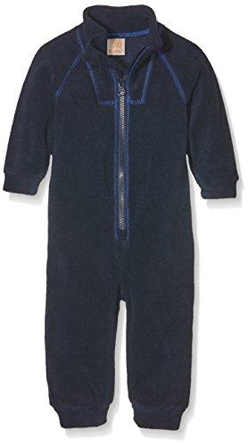 CareTec Baby-Jungen Fleeceoverall , Blau (Dark Navy 7350), 92