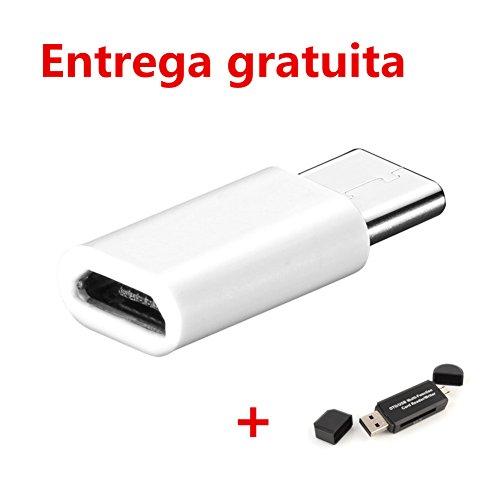 Tongshi 1PC USB-C-C Tipo de adaptador micro de datos USB para LG G5 / Nexus 6P / 5X / 2 OnePlus
