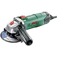 Bosch 0.603.3A2.402 - Mini amoladora PWS 750-115 compacta y legera, multicolor