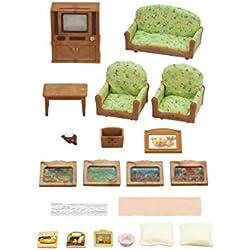 Sombra Epoch sueño GmbH 5287Sylvanian Families Salón de y TV de Juego