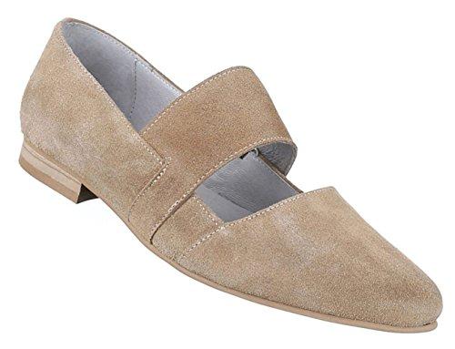 Bombas Sapatos Femininos Confortável Confortável Luz De Couro Marrom