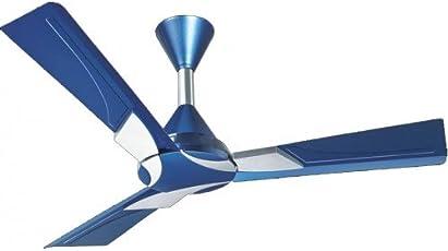 """Orient Electric Wendy Ceiling Fan Azure Blue - Silver 48"""" 1200Mm"""