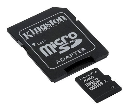 Professional Kingston 16GB Samsung Galaxy Note Edge MicroSDHC Card with custom formatting and Standard SD Adapter! (Class 10