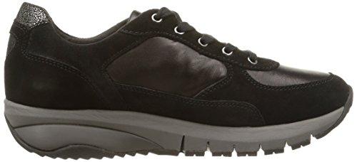 Geox Donna Hayden E.W. A, Sneaker, Donna Nero