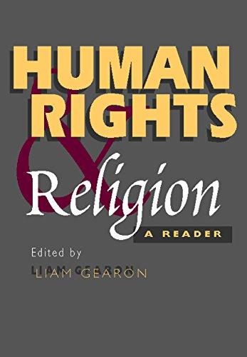 Human Rights & Religion: A Reader por Liam Gearon
