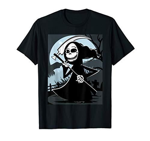 Gruseliger Grim Reaper Friedhof Sense Totenkopf Halloween - Grim Reaper Kostüm Frauen