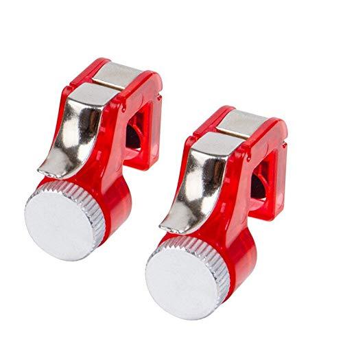 Metall-Target Buttons Schnell Shooting Buttons PUBG Phone Game-Controller Assist Werkzeuge Huhn fress Artefakt - Red