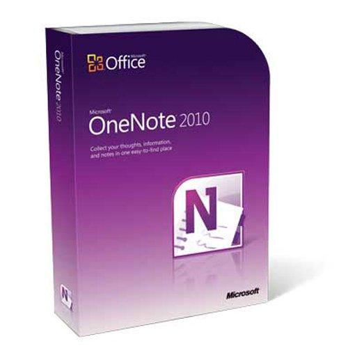Microsoft OneNote 2010 - 1PC/1User - englisch (Microsoft Onenote 2010-software)