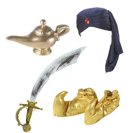 Ali Kostüm Baba - Panelize® Maharadscha Raja Sultan Alibaba Aladin Orient Kostüm Emir 1001 Nacht