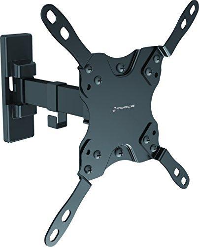 Gforce75® ✔ TV Wandhalterung, vollbewegliche Gelenkige, passend für die meisten Artikulation 33cm 106,7cm Flat Panel TVS-Schwarz -