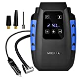 MEKUULA Compresseur d'Air Portatif Compresseur Voiture d'air Digital 12V...