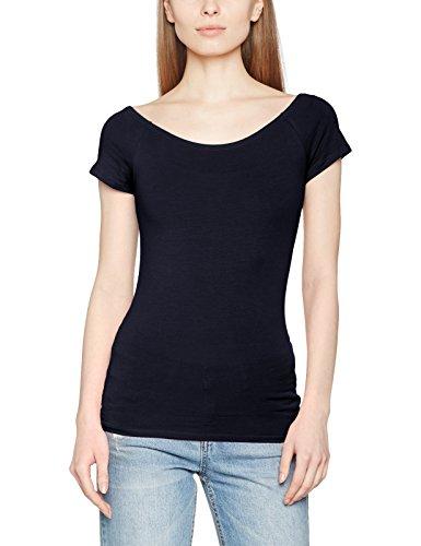 Only Onllive Love Ss Off Shoulder Top Noos, T-Shirt Femme Bleu (Night Sky)