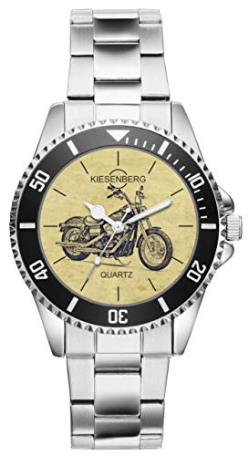 Regalo per Harley Davidson Street Bob Motocicletta Fan Autista Kiesenberg Orologio 20408
