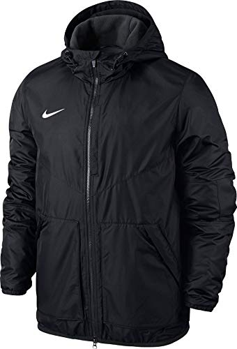 Nike Kinder Jacke Team Fall Jacket, Dark Obsidian/White, L (Kinder Winter Jacke Nike)
