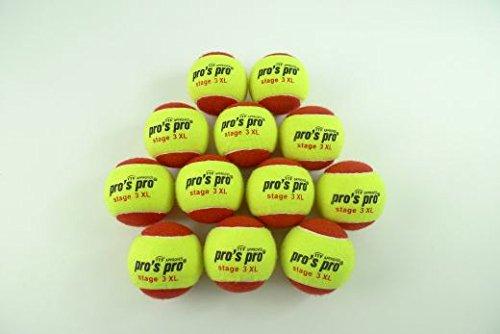 60x Pro's Pro Stage 3 Tennisbälle tennis balls 60er XL Trainer