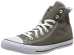 Converse Chuck Taylor All Star, Unisex-Erwachsene Hohe Sneakers, Grau (Charcoal), EU 44 EU