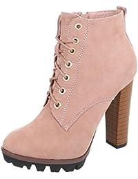 e0759a31f546 Suchergebnis auf Amazon.de für  Pink - Stiefel   Stiefeletten ...