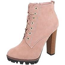 Zapatos para mujer Botas Tacón de aguja Botines de tacón Ital-Design