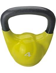 AFW 105141 - Kettlebells de vinilo 4 kg , color amarillo, talla M