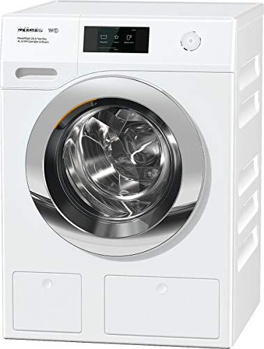 Miele WCR890 WPS PWash2.0 &TDos XL&WiFi &Steam lavatrice Libera installazione Caricamento frontale Bianco 9 kg 1600 Giri/min A+++