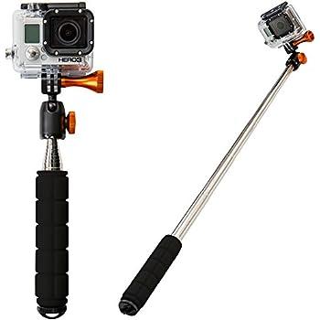 Teleskopstange kamerastativ handstativ f r kamera inkl - Spiegel mit teleskopstange ...