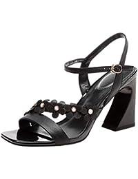 Essandalias Ktioupxz Zapatos Mujer Amazon 37 Para Bajo Tacon qLUpSzVMG