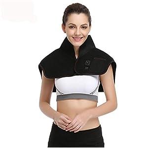 Elektrische Heizung Moxibustion Halten Sie Warme Schal, 7.4V Sicherheitsspannung Schulter Vibrationsmassagegerät
