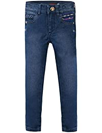 CATIMINI - Jean toile denim stretch bleu stoné enfant fille Catimini