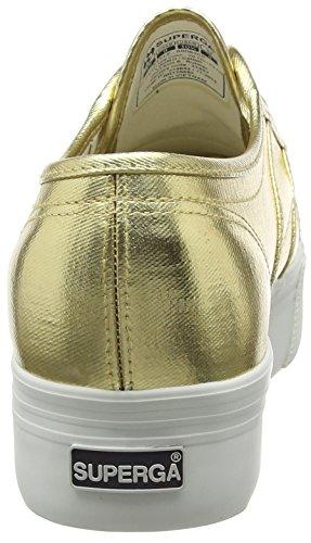 Superga 2790 Cotmetw, Sneakers Basses Femme Or - Doré