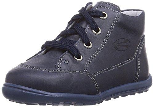 Richter Kinderschuhe Mini 0022-523, Chaussures souple pour bébé (garçon) Bleu Bleu