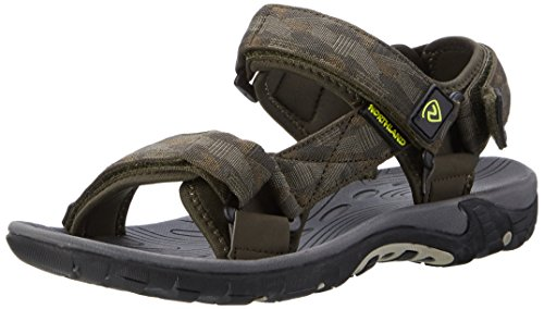 Northland Professional Outback Sandals, Sandales de Sport Mixte Adulte Multicolore (Olive/camel/sand)