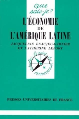 Économie de l'Amerique Latine (l')