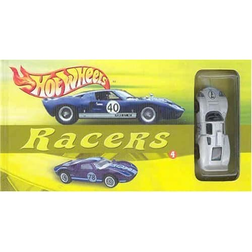 Hot Wheels Racers with Toy Book and Access edition by Moyer, W. (2003) Hardcover