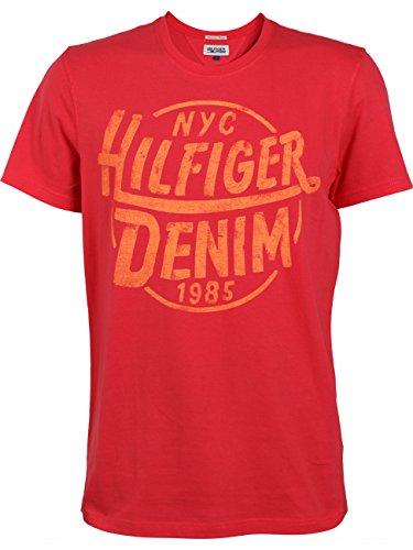 Tommy-Hilfiger-Denim-Herren-T-Shirt-Federer-SS