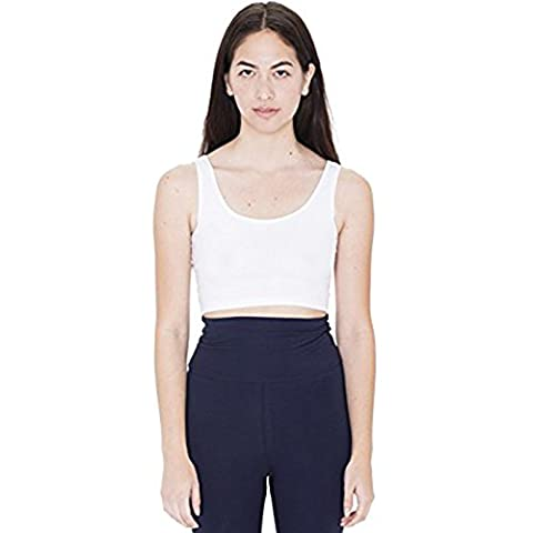 American Apparel Damen Top Small Gr. S, weiß