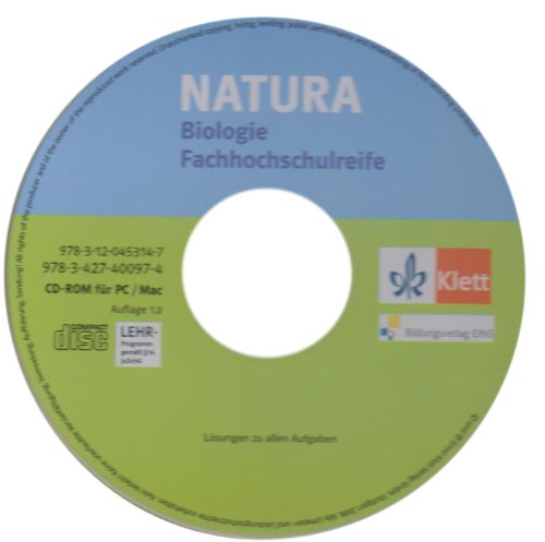 Natura Fachhochschulreife. 11.-13. Schuljahr. Lösungs-CD