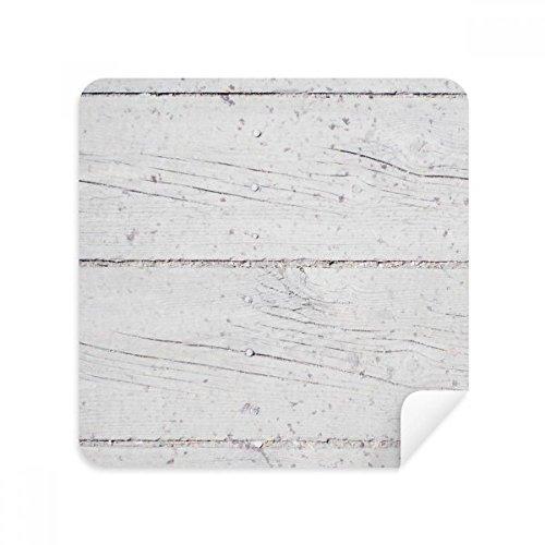 DIYthinker Holzboden Raue Tapete Textur-Glas-Putztuch Telefon Screen Cleaner Suede Fabric 2Pcs