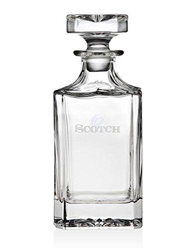 Trinkware Norwalk (Glas Decanter- Scotch Bar Dekanter-geprägt Stopper-Whiskey Whisky Decanter- 680,4. 24 Oz Crystal