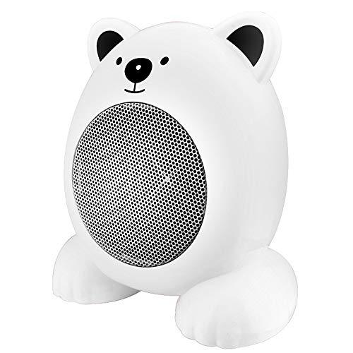 Glowjoy Mini calefactor silencioso 350 W protección