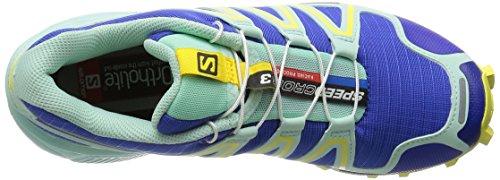 Salomon Damen Speedcross 3 Trail Runnins Sneakers Blau