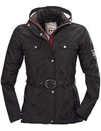 Damen Freizeit-Jacke   Regen-Jacken von Fifty Five - Lake Nipigon - modischer Kurz-Mantel wasserdicht, atmungsaktiv