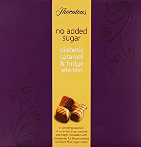 Thorntons No Added Sugar Diabetic Caramel and Fudge Selection 165 g
