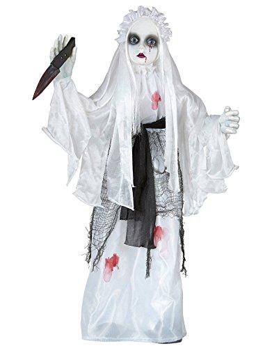 Braut Der Finsternis Kostüm - Widmann 01386 - Killer Braut animiert