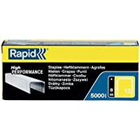 Rapid No 13 Finewire Staple - Grapas finas, caja de 5000 unidades, color galva
