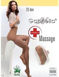Gabriella Medica -Collants pour Dames avec effet de massage et d'Aloe Vera - 20 den