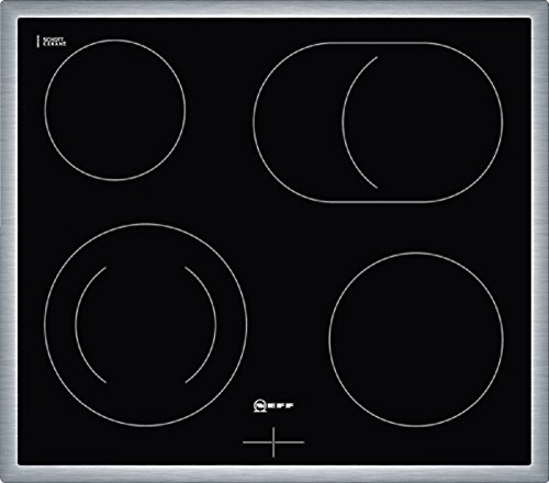 Neff MR 1342 N Kochfeld Elektro / Ceran/Glaskeramik / 58.3 cm / Gesamtanschlußwert 7800 W / schwarz