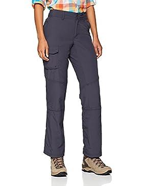 Columbia Silver Ridge Pantalón, Mujer, Azul (India Ink), 10