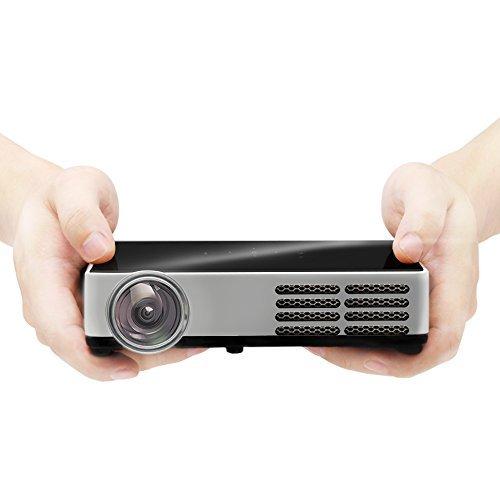 Projecteur Mini CB-300W 3D, 3000 Lumens, Supporte Résolution Native...