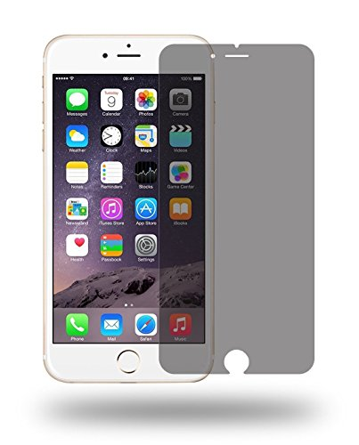 Wunderglass - Panzerglas Privacy Screen Protector kompatibel mit iPhone 6 Plus, 6s Plus Blickschutz Sichtschutz Folie aus echt Glas